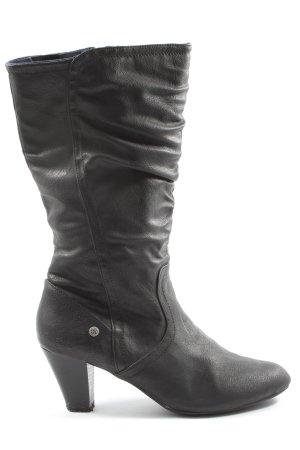 Tom Tailor Absatz Stiefel schwarz Casual-Look