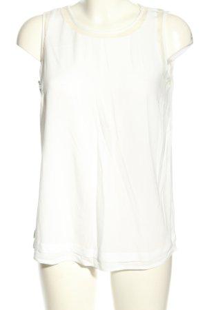 Tom Tailor Blusa senza maniche bianco stile casual