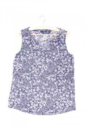 Tom Tailor Ärmellose Bluse Größe 38 blau aus Polyester