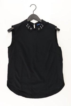 Tom Tailor Ärmellose Bluse Größe 38 schwarz aus Viskose