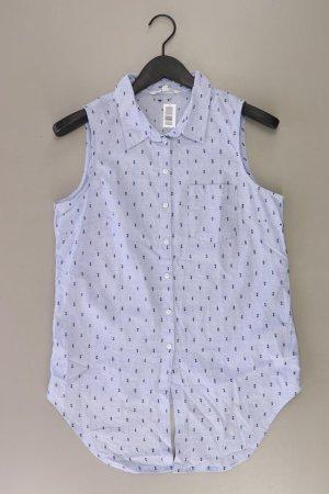 Tom Tailor Ärmellose Bluse Größe M blau aus Baumwolle