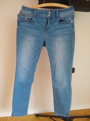Tom Tailor Drainpipe Trousers azure