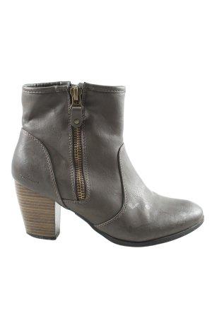 Tom Tailor Low boot gris clair élégant