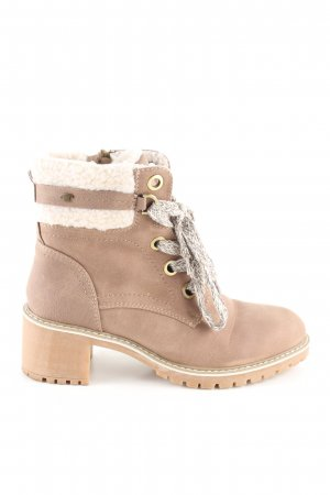 Tom Tailor Ankle Boots nude Casual-Look