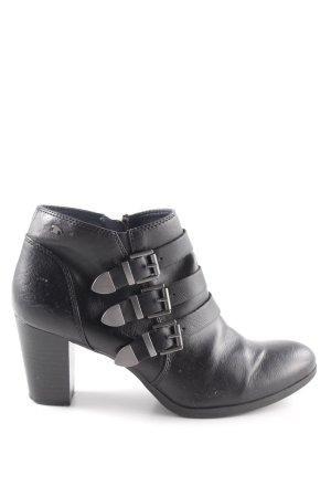 Tom Tailor Low boot noir style décontracté