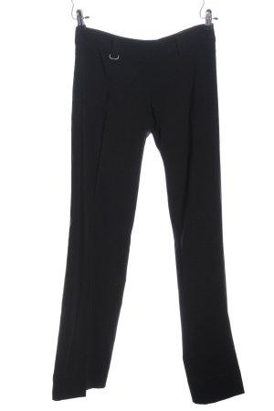 Tom Tailor Anzughose schwarz Business-Look