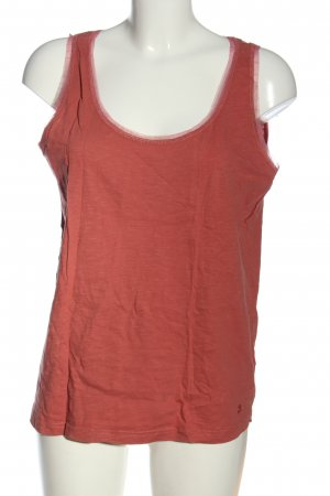 Tom Tailor Basic Top rot meliert Casual-Look