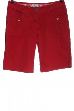 Tom Tailor Bermuda rojo look casual
