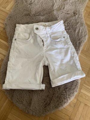 Tom Tailor Bermuda/Shorts - Jeans - White/Weiß - Größe 25 XS