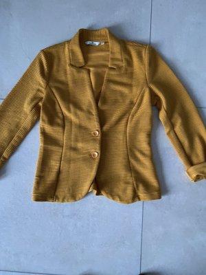 Tom Tailor Blazer Sweatshirt Gr S Senf Gelb