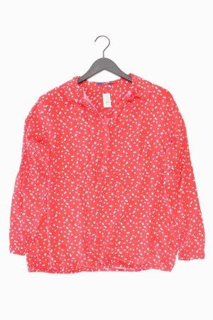 Tom Tailor Bluse rot gepunktet Größe XL