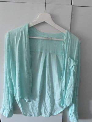 Tom Tailor Empiècement de blouses bleu clair-turquoise
