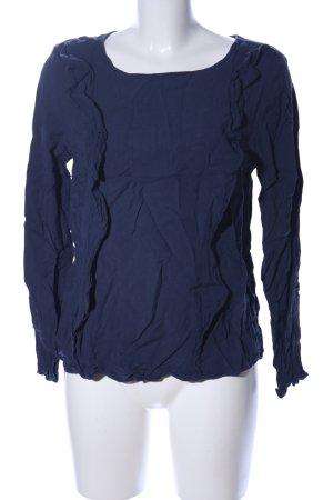 Tom Tailor Blouse topje blauw zakelijke stijl