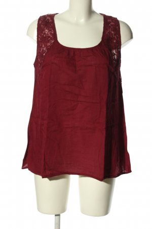 Tom Tailor Blouse topje rood casual uitstraling