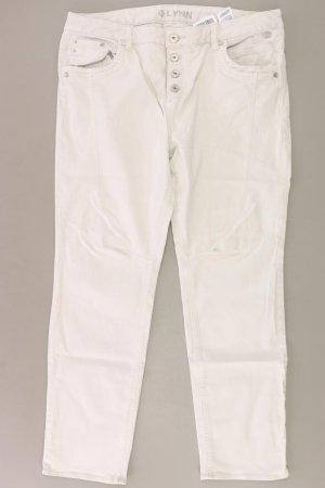 Tom Tailor Vaquero de corte bota blanco puro