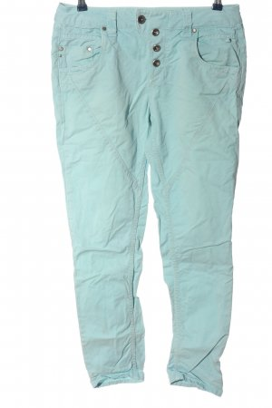 Tom Tailor Boyfriend Trousers turquoise casual look