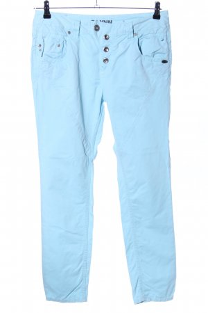Tom Tailor Boyfriendhose blau Casual-Look