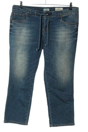 Tom Tailor Jeansy typu boyfriend niebieski W stylu casual