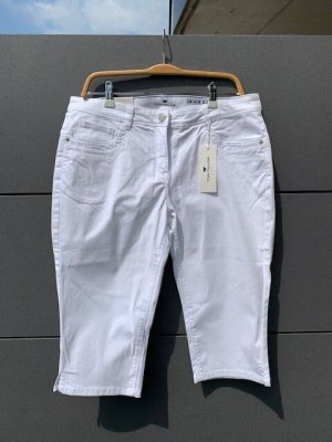Tom Tailor Capri Hose Jeans Alexa weiss Gr. 42 neu mit Etikett