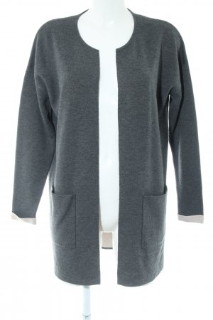 Tom Tailor Cardigan hellgrau meliert Casual-Look