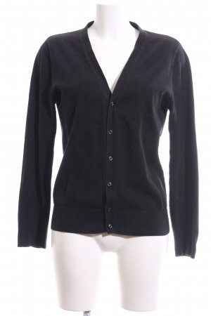 Tom Tailor Cardigan schwarz Casual-Look