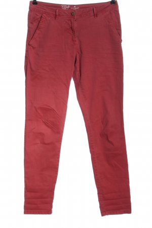 Tom Tailor Chinohose rot Casual-Look
