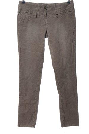 Tom Tailor Corduroy broek bruin casual uitstraling