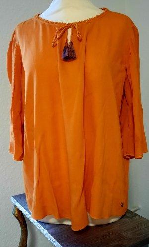 Tom Tailor Crèpe Blusenshirt Orange
