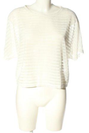 Tom Tailor T-shirt court blanc imprimé allover style décontracté