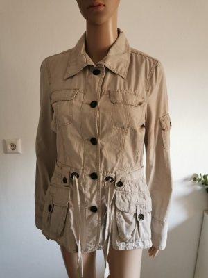 Tom Tailor Damen Casual Cargojacke Trench Jacke beige Größe 36