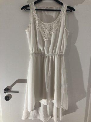 Tom Tailor Denim Asymetryczna sukienka biały