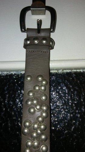 Tom Tailor Cintura di pelle multicolore Pelle