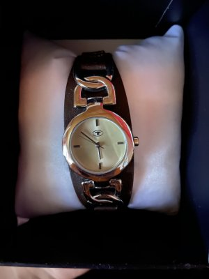Tom Tailor Watch With Leather Strap multicolored