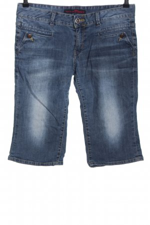 Tom Tailor Denim 3/4 Jeans blau Casual-Look