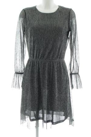 Tom Tailor Denim Abendkleid silberfarben meliert Elegant