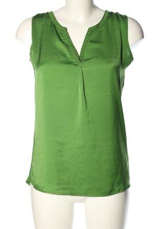 Tom Tailor Denim ärmellose Bluse grün Casual-Look