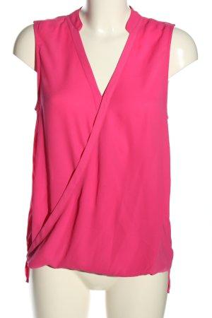 Tom Tailor Denim ärmellose Bluse pink Casual-Look