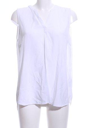 Tom Tailor Denim ärmellose Bluse weiß Casual-Look