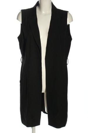 Tom Tailor Denim Gilet de costume noir style d'affaires