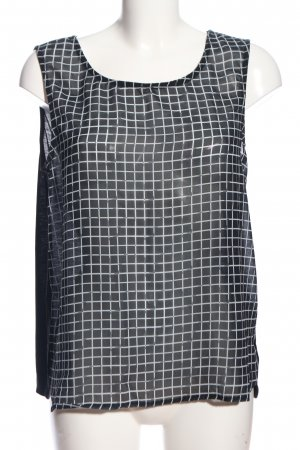 Tom Tailor Denim Basic Top black-white graphic pattern casual look