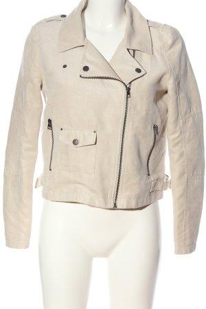 Tom Tailor Denim Biker Jacket natural white casual look