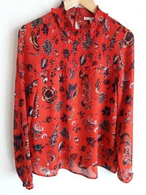 Tom Tailor Denim. Bluse. rot.