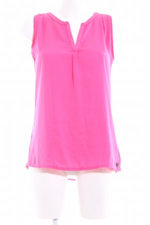 Tom Tailor Denim Blouse Top pink casual look