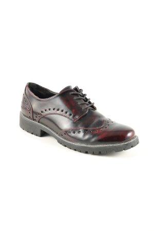 Tom Tailor Denim Budapest schoenen zwart-rood prints met een thema