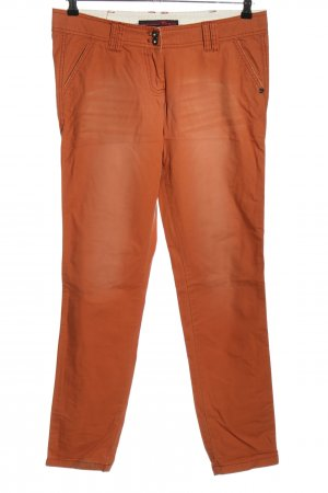 Tom Tailor Denim Chinohose hellorange Casual-Look