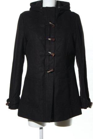 Tom Tailor Denim Duffel Coat black casual look