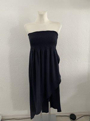 Tom Tailor denim dunkelblau gr S bandeau Kleid