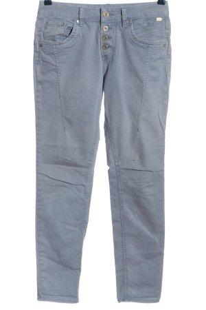 Tom Tailor Denim Pantalón de cinco bolsillos azul estampado a rayas look casual
