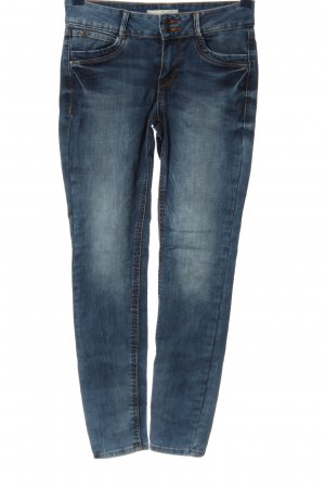 Tom Tailor Denim Five-Pocket-Hose blau Casual-Look