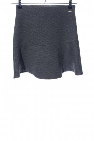 Tom Tailor Denim Flared Skirt light grey graphic pattern casual look